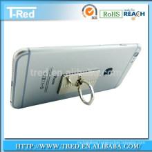 Shiny elegant cell phone finger holder for tablet pc