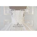 Оптовые роскошные с плеча свадебные платья с длинным шлейфом бальное платье