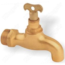 Brass Taps With Lockable Handle