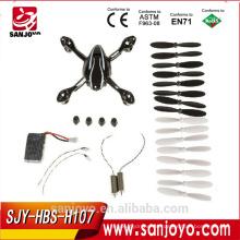 Hubsan H107L, H107C, H107D batería, carcasa de carrocería, Hélice, REPUESTOS