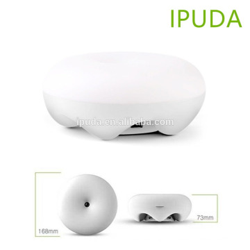 smart innovative 2017 IPUDA hotel wall lamps with fast charging USB outlets smart magic control