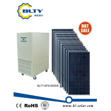 6kw off Grid Solar Panel Solar Power System for Household