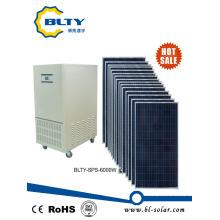6kw выключено Grid солнечная панель Солнечная энергетическая система для дома