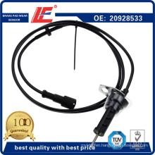 Truck Auto Brake Pad Wear Sensor Indicator Transducer 20928533, 68326623, 7420928552, 3986607, 20392985, 20442608 for Volvo