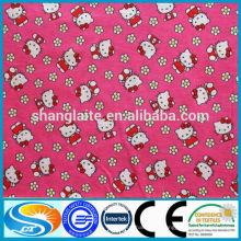 Tissu de flanelle de coton tissu textile en Chine