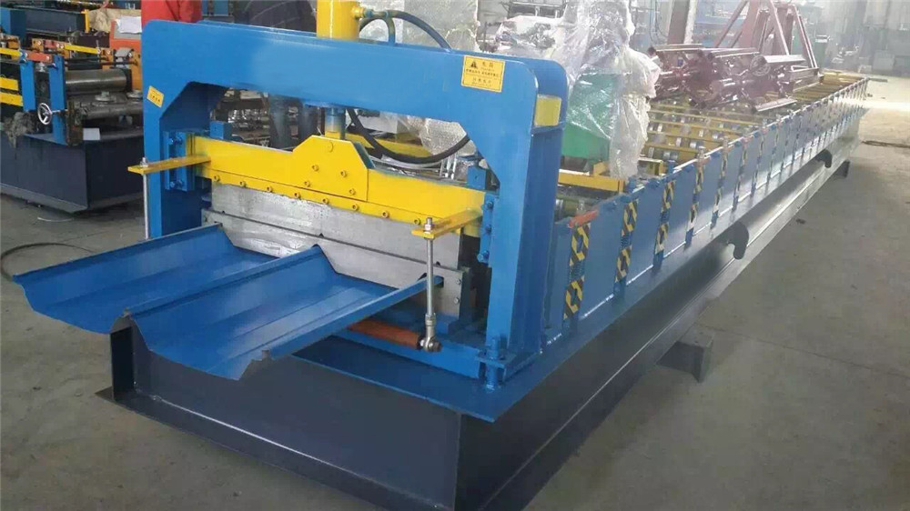 Self Lock Joint Hidden Roofing Panel Machine