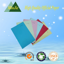 China Manufactrurer caliente vendiendo A4 10 colores mezclados - papel de la copia del color 80GSM