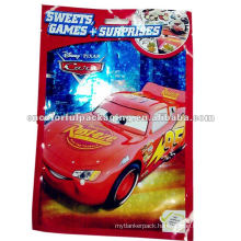 Plastic Colored Opp Car Toy Packaging Bag