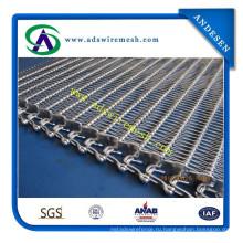 Высокое качество спиральной сетки пояса, ленточные ограждения (завод)
