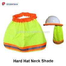 Accesorios para cascos, casco de seguridad Sombrero protector solar para protegerse del oído con protección contra el sol