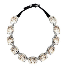 New different types of rhinestone evening necklace set costume jewelry