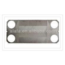 M30 également plaques et joints pour échangeur de chaleur, ss304, 136, plaques d'échangeur de chaleur matériels, Ti