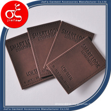 Embossed Leather Patches/Clothing Brands Patch Leather