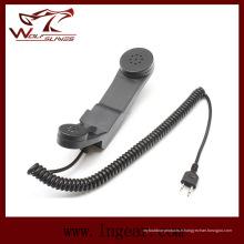 Z. tactique militaire H-250 téléphone micro Ptt