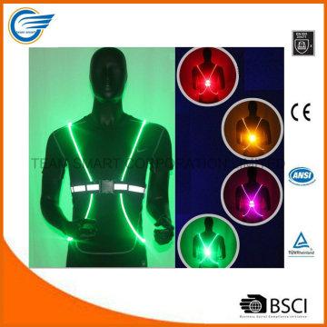 Nacht Reflektierende Weste LED Optik Weste zum Laufen