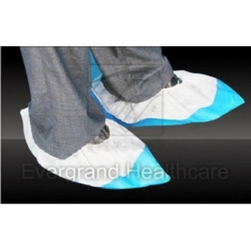 Medical Disposable Two Colours Shoe Cover