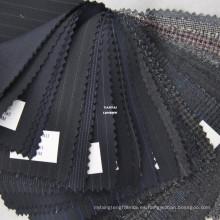 Tela a granel barata de la tela de 100 woll excedentes para el traje de los hombres