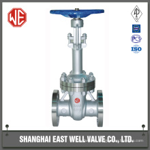 Rising stem gate valve low pressure water gate valve drawing