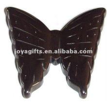 Подвески с гематитовой бабочкой