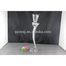 New arrival flower shape crystal trophy for company souvenir