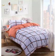 Печатных микрофибры ткань для постельные принадлежности лист с высоким качеством