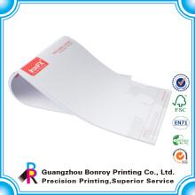 A4 A5 impressão de papel timbrado de empresa de negócios