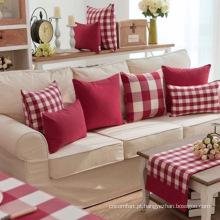 Almofadas confortáveis para hometextile Yarn Dye