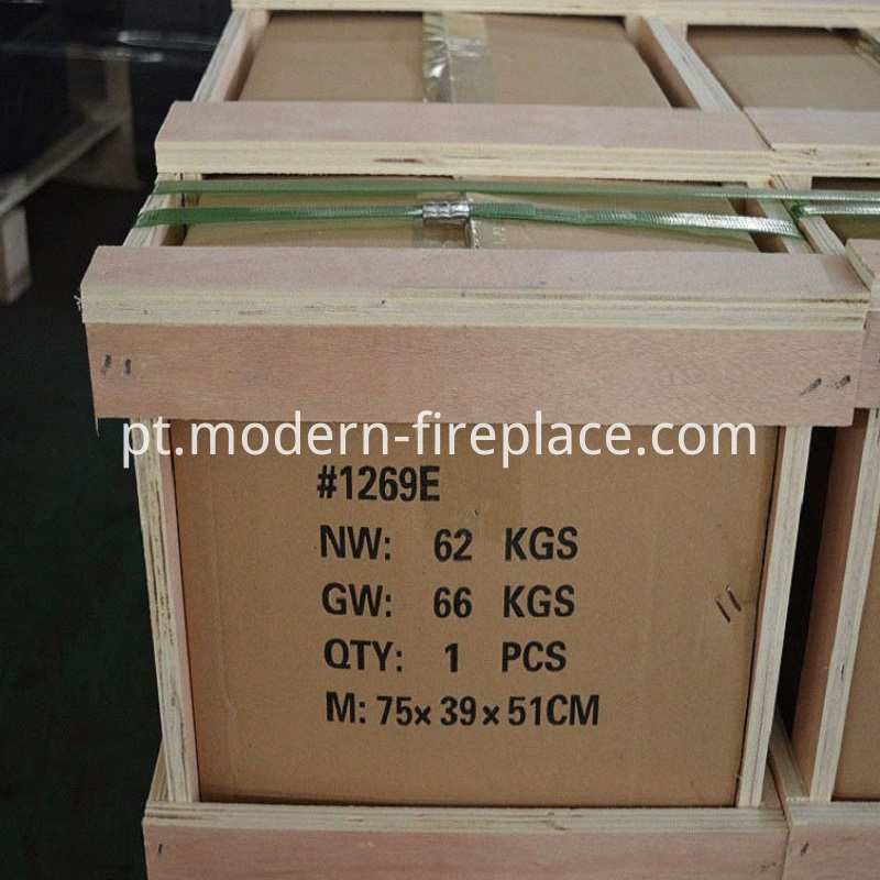 Wood Kitchen Burning Stoves Factory Packaging