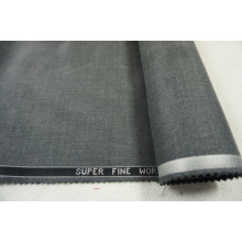 Wool Fabric with Viscose Grey Style