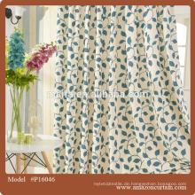 Rote Baumwolle gedruckt Rod Pocket Vorhang, Anpassungsraum Vorhänge, Buffalo Check Schokolade Drapery Panel