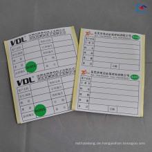 selbstklebende Aufkleber des Kunstpapiers, die Aufkleberaufkleber mit ROHS-Umbaudruck kaufen