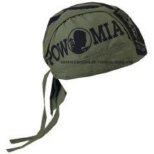 OEM Produce logotipo personalizado impresso algodão crânio Biker Cap Bandana Headwrap