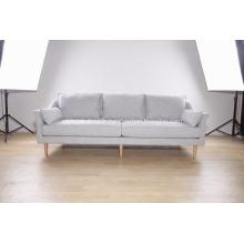 Canapé moderne 3 places en tissu