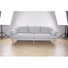 Sofá moderno de 3 plazas en tela