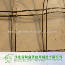 (Nuevo producto nuevo) Malla de alambre de acero inoxidable tejido a mano