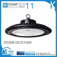 125lm/W Dimmable UFO Gym 150W High Bay LED Light