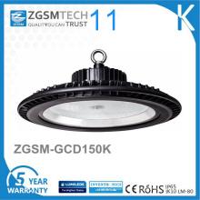 Luz alta do diodo emissor de luz da baía do Gym 150W do UFO de 125lm / W Dimmable