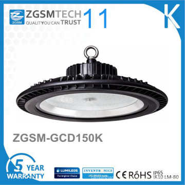 125lm / W Dimmable UFO-Turnhalle 150W hohes Bucht-LED-Licht