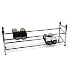 Two Shelves Shoe Rack Electroplating