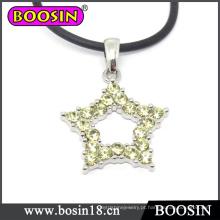 Colar de cristal espumante / Lucky Twinkle Little Star Necklace