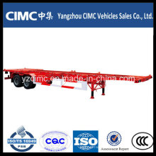 Cimc Trailer 40ft Skeleton Trailer