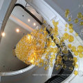 Modern New Style Design Decorative Hotel Project Strings Chandelier