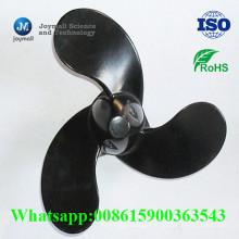 Alliage d'aluminium fait sur commande moulage mécanique sous pression peint pour le ventilateur de refroidissement