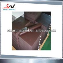 Ímã flexível de íman de borracha de PVC de alta qualidade de alta qualidade