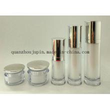 Grupo cosmético de empacotamento da garrafa de perfume da loção de creme do frasco do OEM