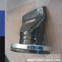 NBR Body Válvula de retención de pico de pico con RF con brida