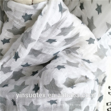 baby 100% cotton muslin fabric wraps
