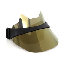 chapeau de protection solaire en plastique unisexe