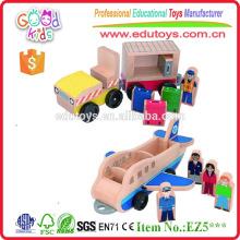 Yiwu China Wholesale Nuevo y encantador diseño de juguete de madera de avión