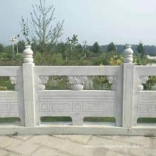 Customization White Marble Railing Bridge